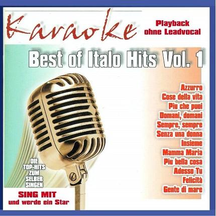Best of Italo Hits - Karaoke-Playbacks-