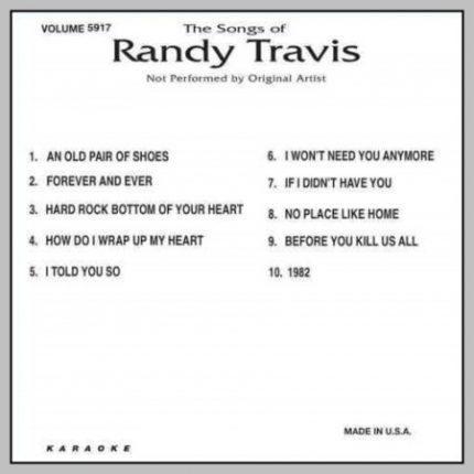 Karaoke-CD-G-Backstage-5917-Best-Songs-Of-RANDY-Back