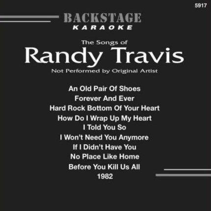 Karaoke-CD-G-Backstage-5917-Best-Songs-Of-RANDY-Front