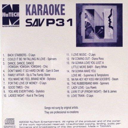 NuTech-P-31-Karaoke – Superhits - Ruckseite
