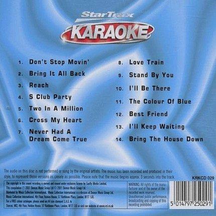 S Club 7 - Karaoke Back