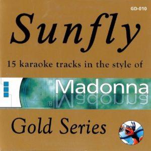 Sunfly Karaoke - Gold - Madonna - GD-010 - Front