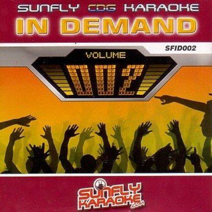 Sunfly Karaoke In Demand Volume 2