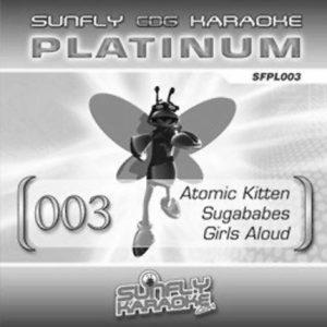 Sunfly Karaoke Platinum Series Volume 3