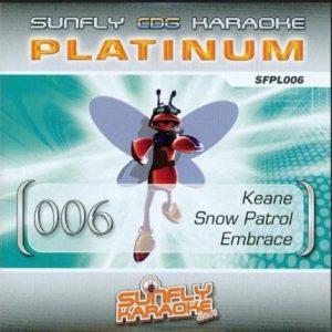 Sunfly Platinum 6 Keane, Snow Patrol & Embrace