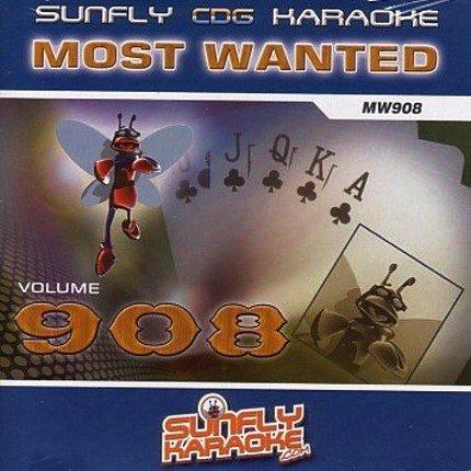 Sunfly most wanted 908 - Karaoke CD+G - Playbacks