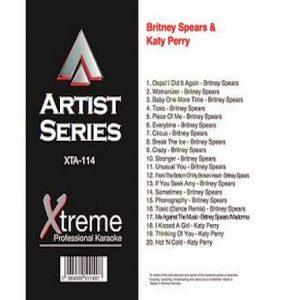 BRITNEY SPEARS & KATY PERRY - Karaoke - xta114