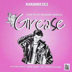 Broadway Musical GREASE - Karaoke Playbacks - Frontseite CD