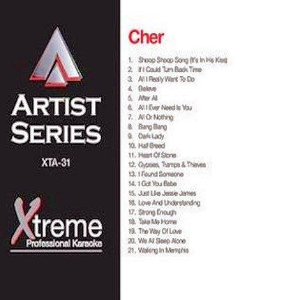CHER - Karaoke Playbacks - xta-31
