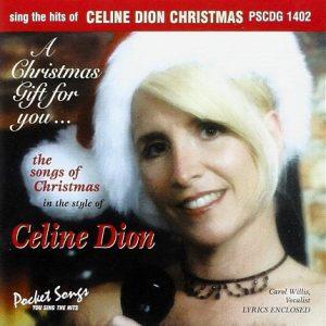 Celine Dion Christmas – Karaoke Playbacks – PSCDG 1402- Frontseite