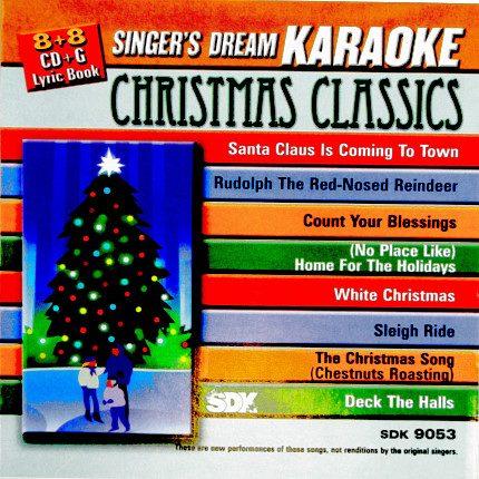 Christmas Classics Holiday - Karaoke Playbacks - CD+G - SDK-9053