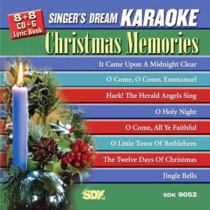 Christmas Memories - Singer-s Dream - SDK 9052 - Karaoke Playbacks - Front