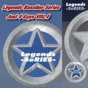 Just 4 Guys Vol.4 Legends Karaoke