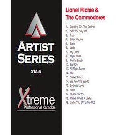 LIONEL RICHIE & THE COMMODORES - Karaoke Playbacks - xta5