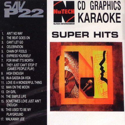 NuTech-Karaoke-P-22 - Playbacks - Front