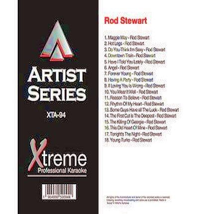 ROD STEWART - Best Of Karaoke Playbacks - XTA94