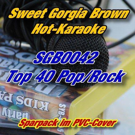 Sweet Georgia Brown Karaoke - SGB0042 - Top 40 Pop und Rock