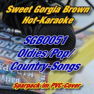 Sweet Georgia Brown Karaoke - SGB0051 - Oldies-Pop-Country