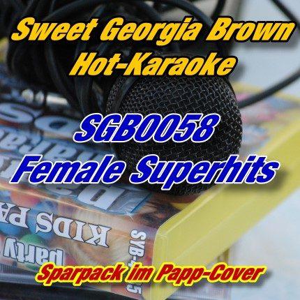 Sweet Georgia Brown Karaoke - SGB0058 - Female Superhits