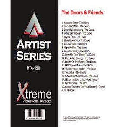 THE DOORS & FRIENDS - XTA-120 - Karaoke Playbacks