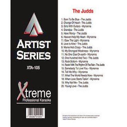 THE JUDDS & WYNONNA - Karaoke Playbacks - xta105