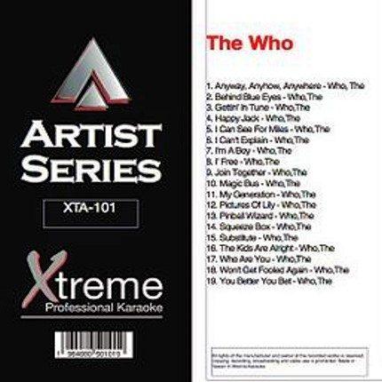 THE WHO - Karaoke Playbacks - xta-101