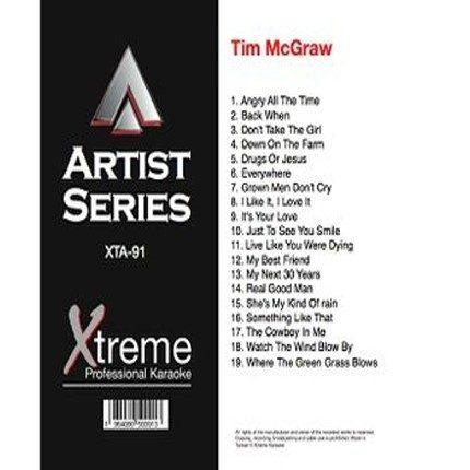 TIM MCGRAW - Country Playbacks - XTA91
