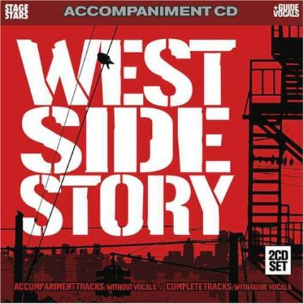 West Side Story – Audio Karaoke Playbacks - CD Frontseite
