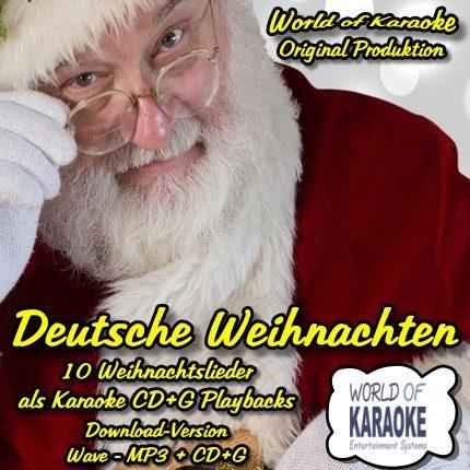 World Of Karaoke - Deutsche Weihnachten - Download - CD+G
