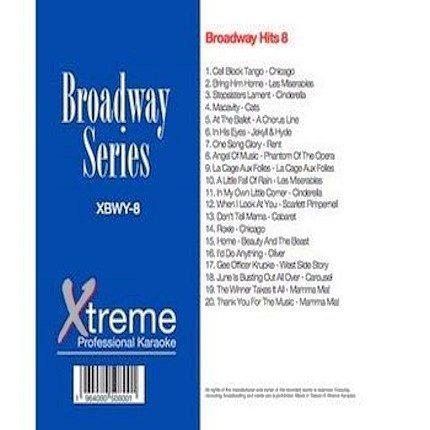 Xtreme Broadway Hits 8 - Karaoke Playbacks -