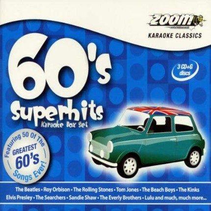 Zoom Karaoke 60s Superhits - 3 CDG Set