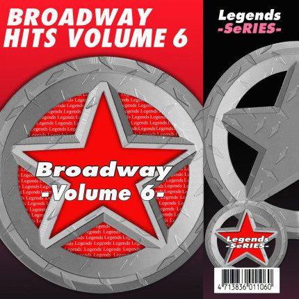 Broadway Hits Vol. 6 Karaoke Disc - Legends Series