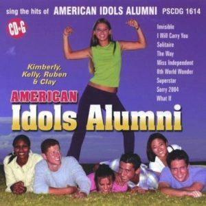 American Idols Alumni - Karaoke Playbacks - PSCDG 1614 - CD-Front
