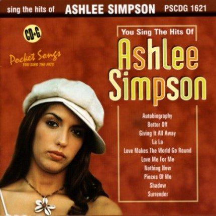 Ashlee Simpson - Karaoke Playbacks - PSCDG 1621