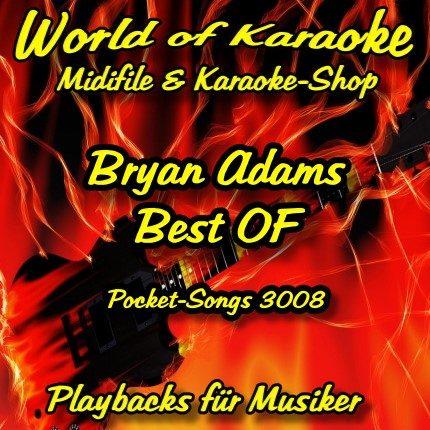 Best Of Bryan Adams - Karaoke Playbacks - PSCD 3008