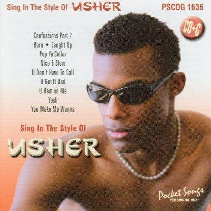 Best Of Usher - Karaoke Playbacks - PSCDG 1636 - CD-Front