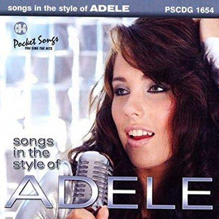 Best of Adele - Karaoke Playbacks - PSCDG 1654 - CD-Front