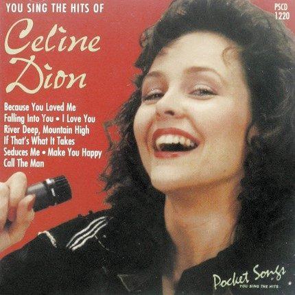 Celine Dion Hits - Karaoke Playbacks - CD-Front