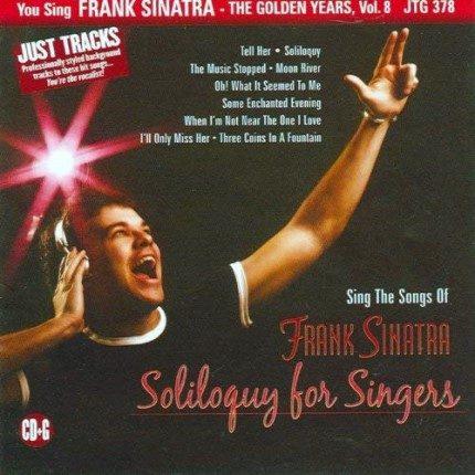 Frank Sinatra - The Golden Years - Vol. 8 - Karaoke Playbacks - CD-Front
