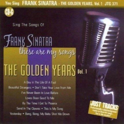 Frank Sinatra Vol.1 - Karaoke Playbacks - JTG371 - CD-Front