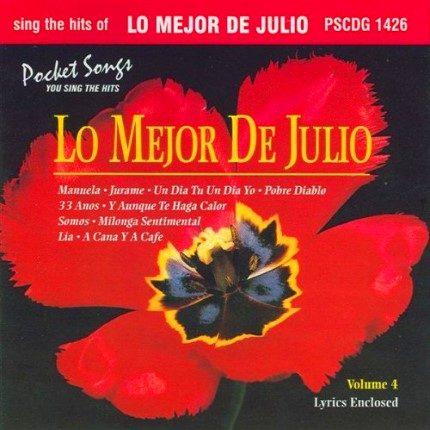 Julio Iglesias - Karaoke Playbacks - PSCDG 1426 - CD-Front
