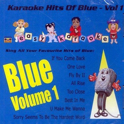 Karaoke Playbacks Hits of Blue - CD+G - Front