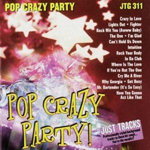 Pop Crazy Party - Karaoke Playbacks - JTG 311 - CD-Front