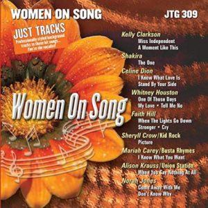 Women on Song - Karaoke Playbacks - JTG 309 - CD-Front