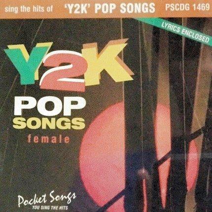 Y2K Pop Songs - Karaoke Playbacks - PSCDG 1469 - CD-Front