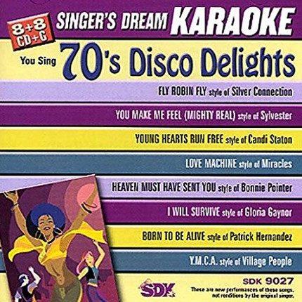 70's Disco Lights - Karaoke Playbacks - SDK 9027
