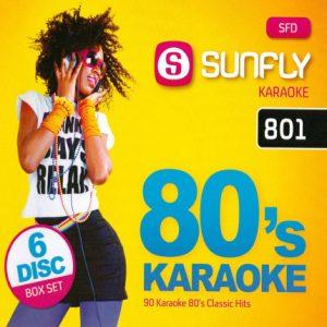 80´s Karaoke - 90 Songs auf 6 CDs - SFD 801 - Karaoke Playbacks