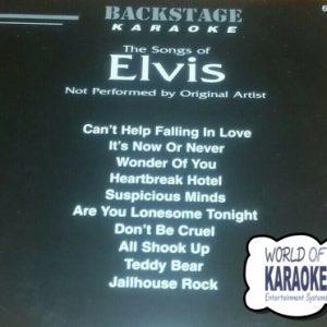 Songs of Elvis - Backstage Karaoke Playbacks - BS 6017