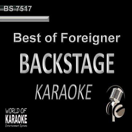 Best of Foreigner – Karaoke Playbacks – BS 7517 - Einfach nur Kult