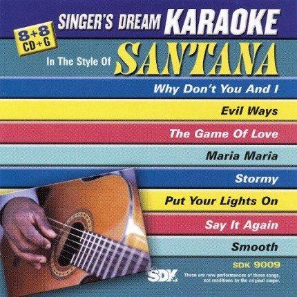 Best of Santana - Karaoke Playbacks - SDK 9009